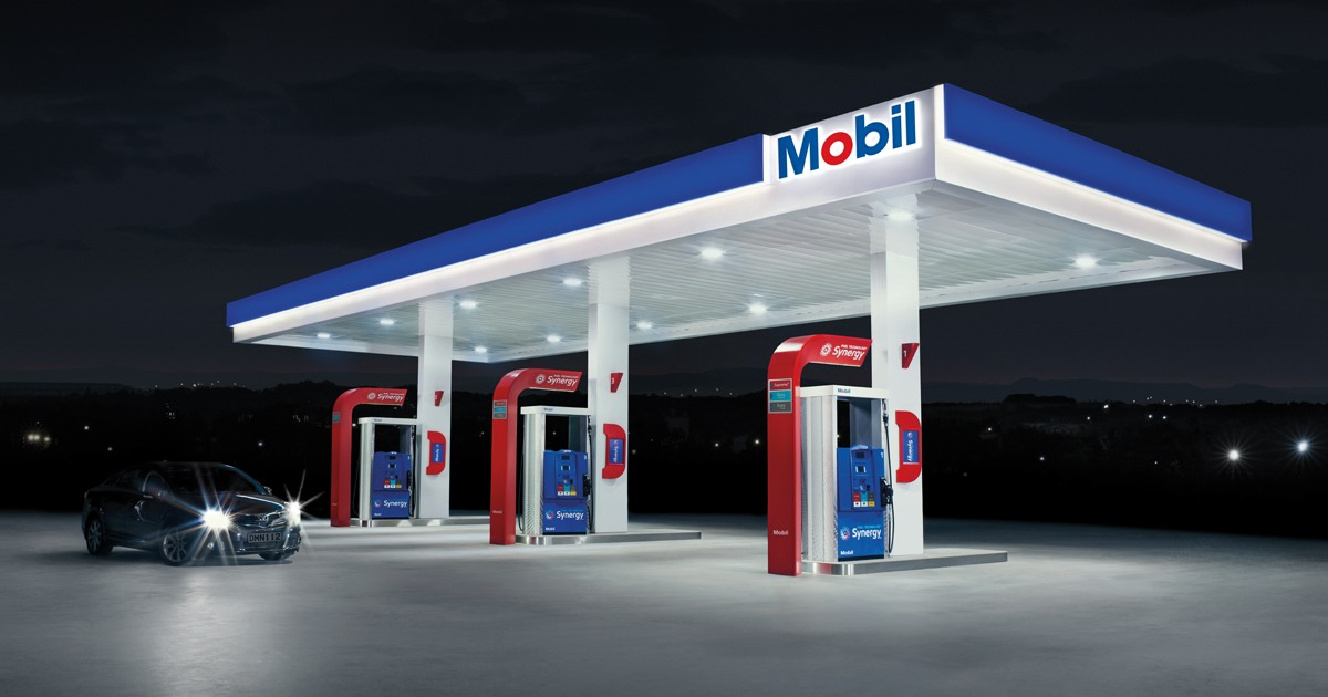 Mobil Stations Mobil New Zealand